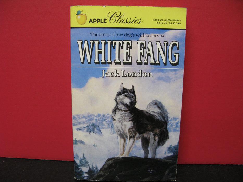 Apple Classics White Fang by Jack London Book