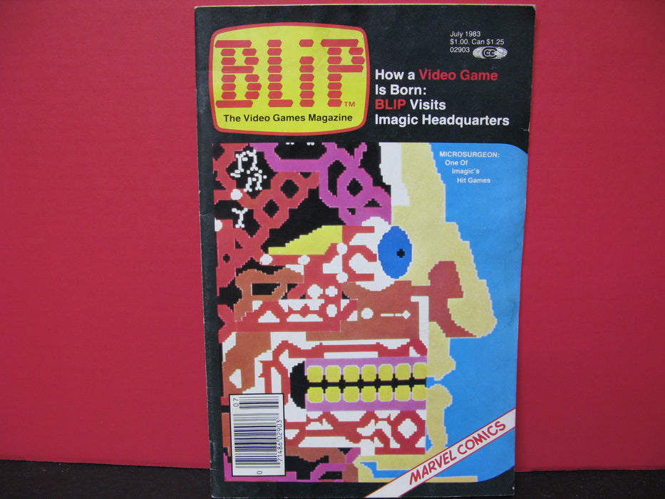 Blip The Video Games Magazine