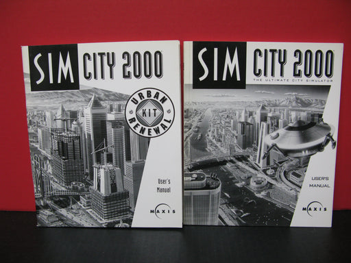 Sim City 2000 User's Manuals