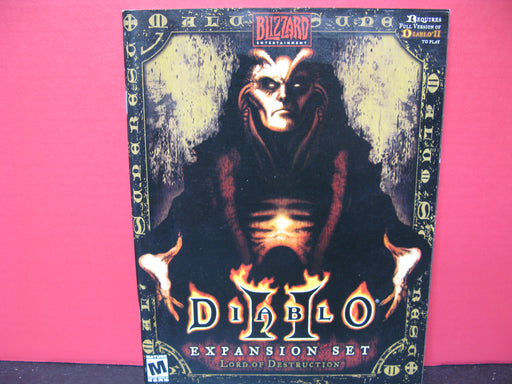 Diablo II Expansion Set Lord of Destruction Book