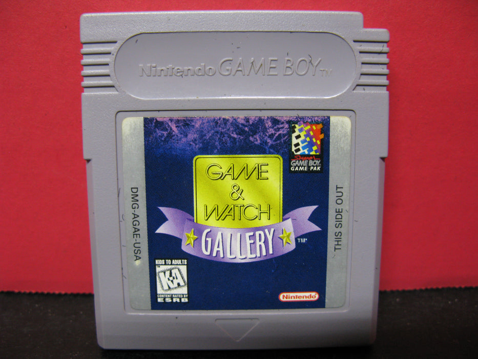 Nintendo Game Boy 'Game and Watch Gallery' Game