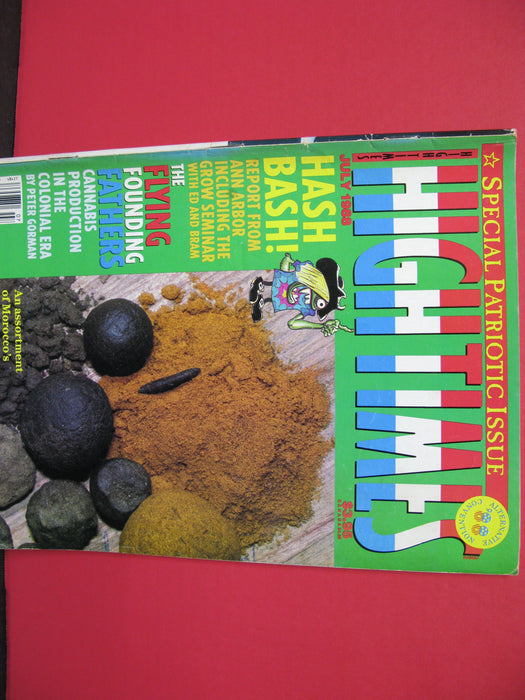 8 High Times Magazines
