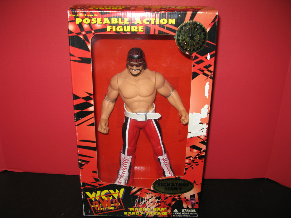 """Macho Man"" Randy Savage Poseable Action Figure"