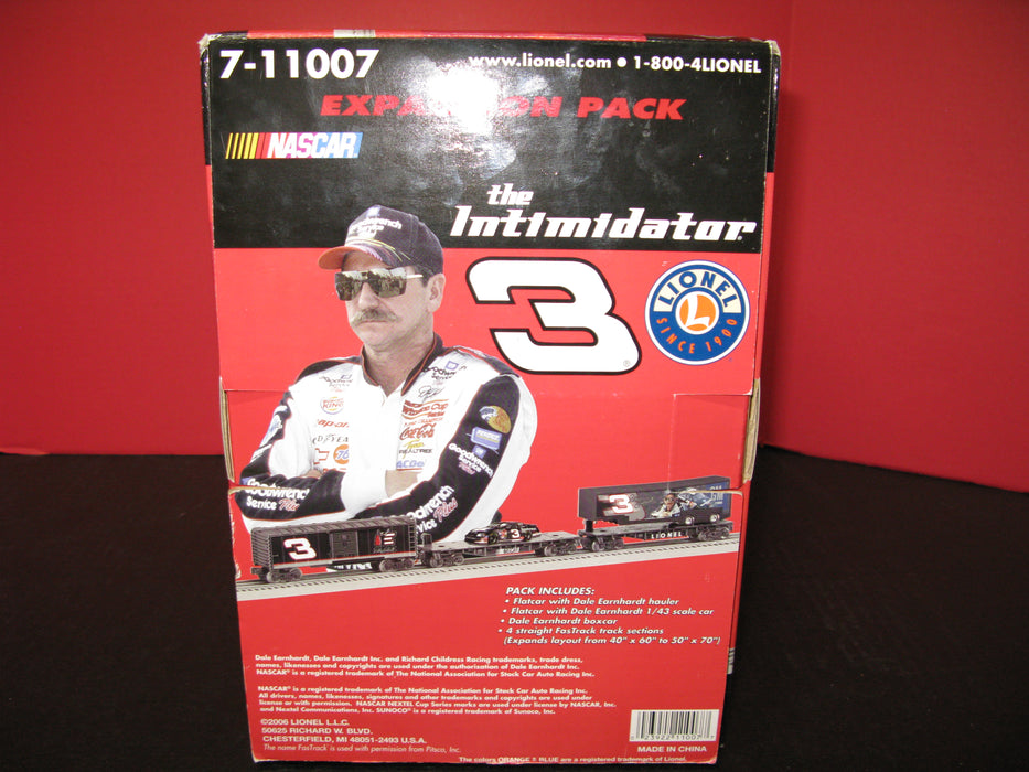 Dale Earnhardt Expansion Pack the Intimidator & Electric Train Set