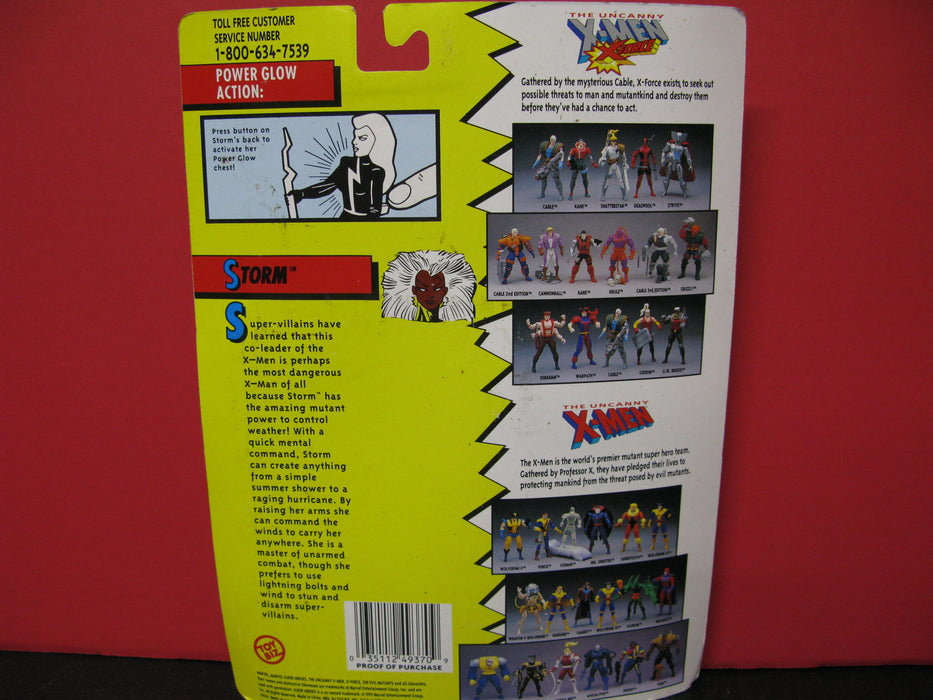 The Original Mutant Super Heros X-Men Power Glow Storm
