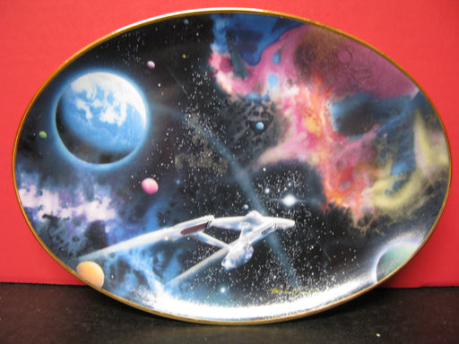 'Second Star from the Right' Star Trek Collectors Plate