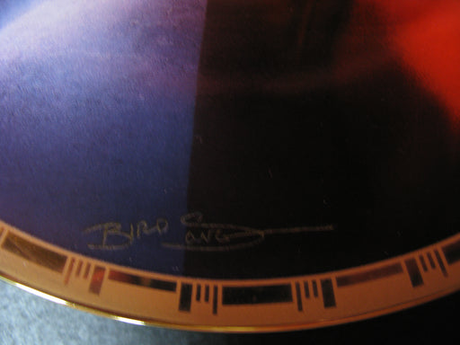 'Admiral Kirk and the U.S.S. Enterprise NCC-1701'  Star Trek Collectors Plate
