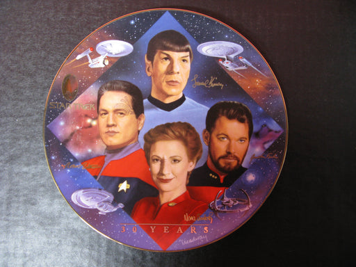 'Second in Command' Star Trek Collectors Plate