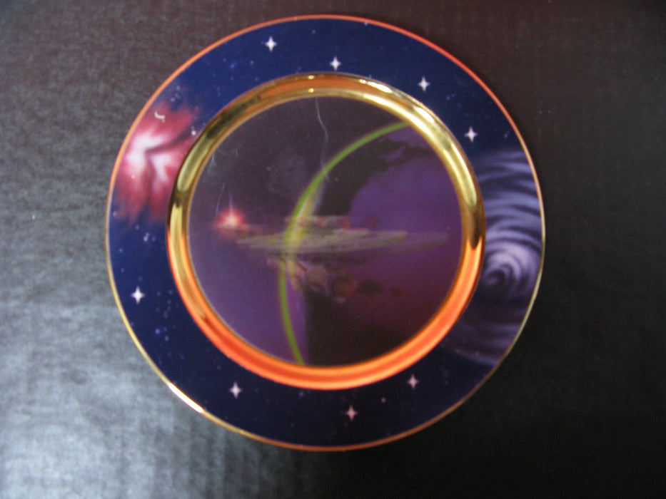 'Warp Speed' Star Trek Collectors Plate