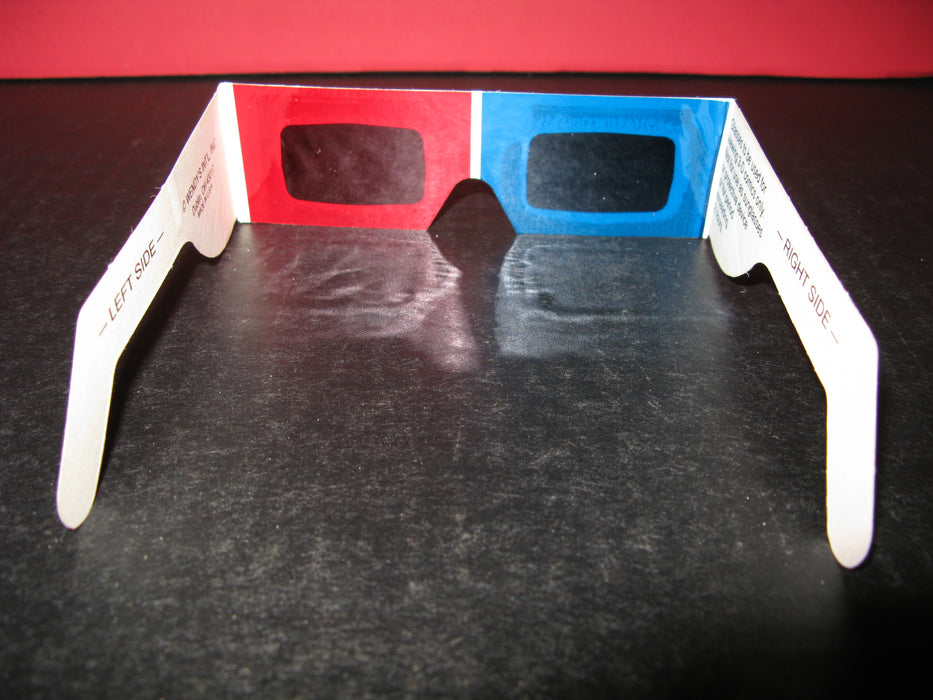 50 Pairs of 3-D Glasses