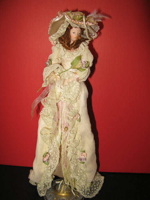Victorian Tassel Doll & Other Doll