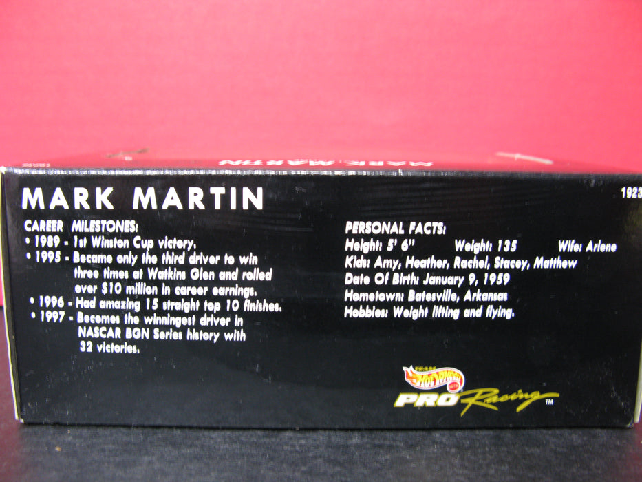 Mark Martin Valvoline Hot Wheels Mattel