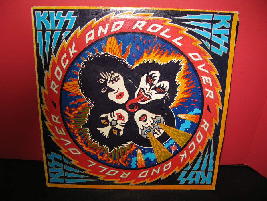 Kiss - Rock And Roll Over Vinyl