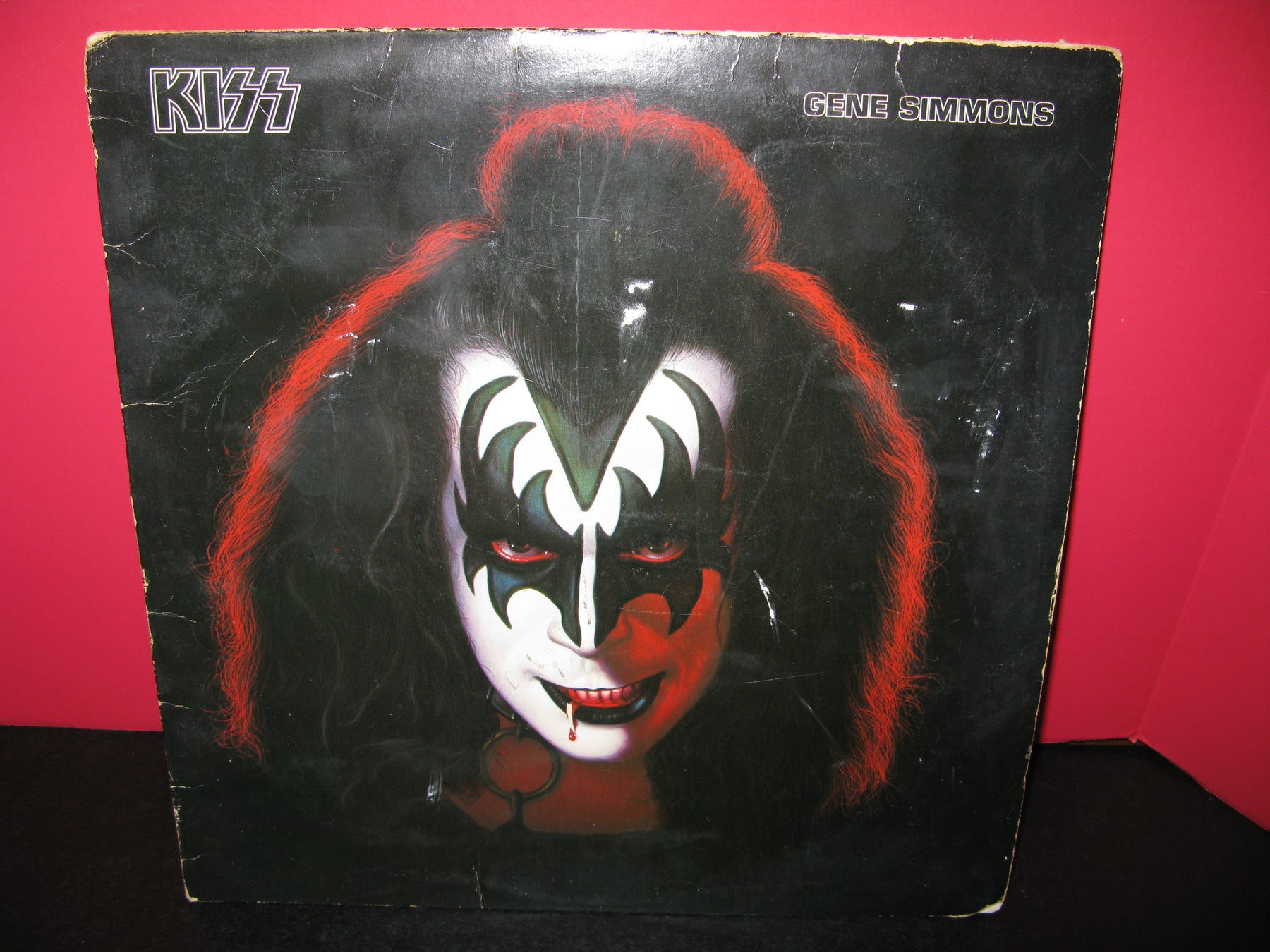Kiss Gene Simmons Vinyl Record