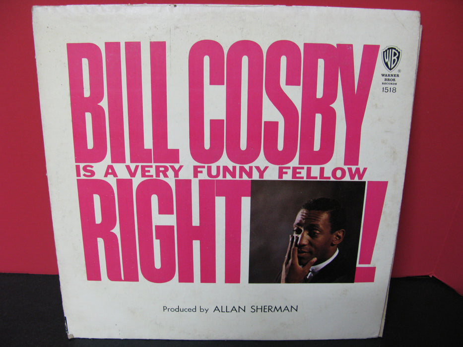 Bill Cosby Is A Very Funny Fellow Right! Vinyl Record