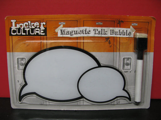 2 Locker Culture Magnetic Talk Bubbles