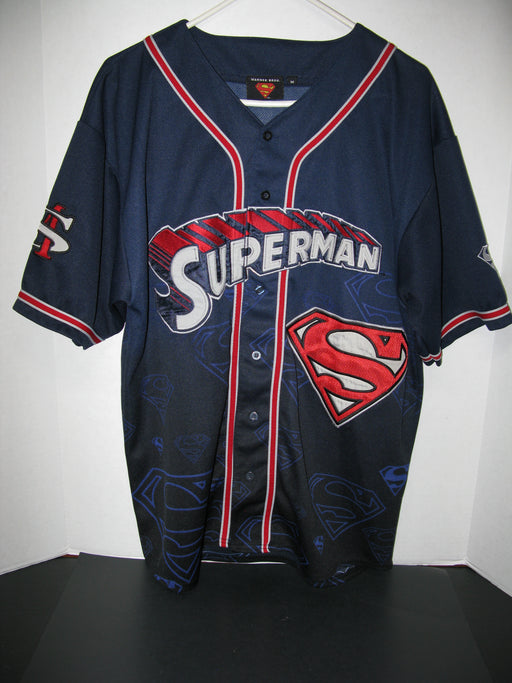Warner Bros Superman Baseball Jersey