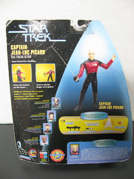 Star Trek -Captain Jean-Luc Picard  Galactic Gear Action Figure