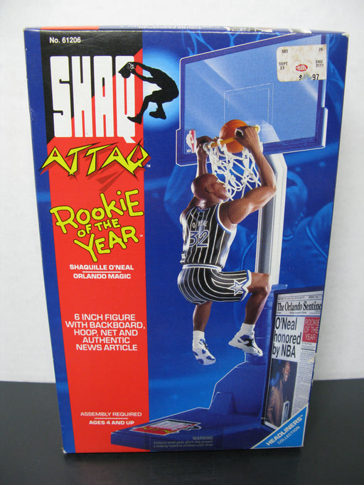 Shaq Attaq Rookie of the Year Shaquille O'Neal 6 Inch Figure