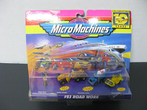 MicroMachines #23 Road Work