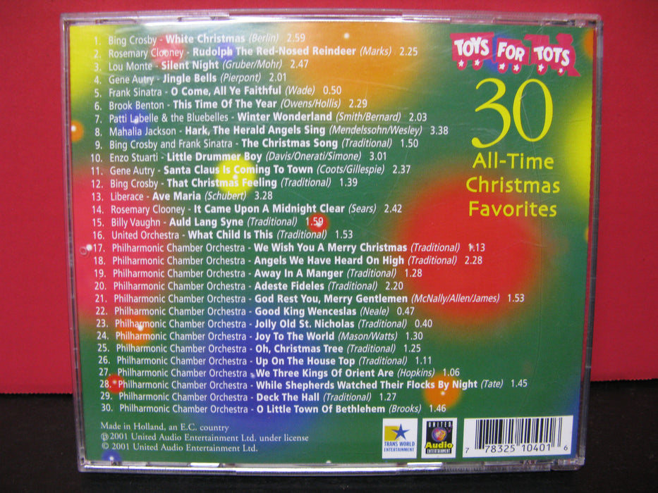 Toys For Tots 30 All Time Christmas Favorites CD
