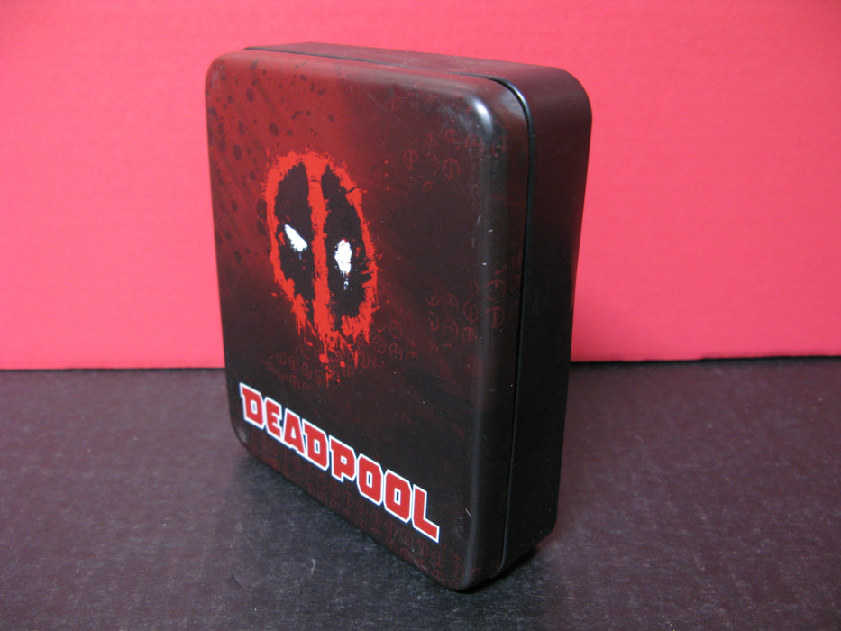 Marvel Comics & Marvel Deadpool Tin Wallet Holder