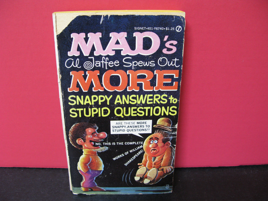"""Mad's Al Jaffee Spews Out More"" Book"