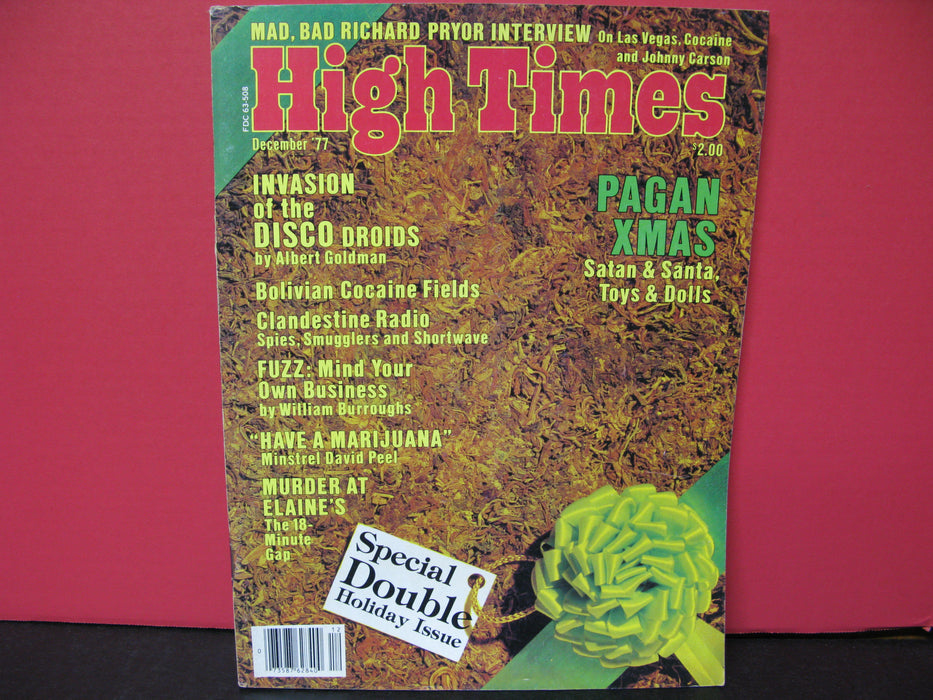 19 Vintage High Times Magazines