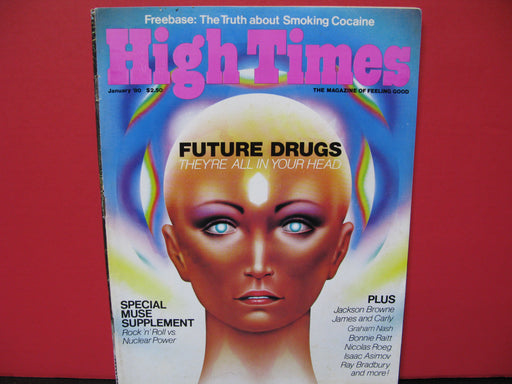 26 Vintage High Times Magazines