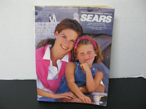Vintage Sears 1993 Spring/Summer Annual Catalog
