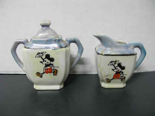 Vintage Mickey Mouse Tea Set. Luster Ware