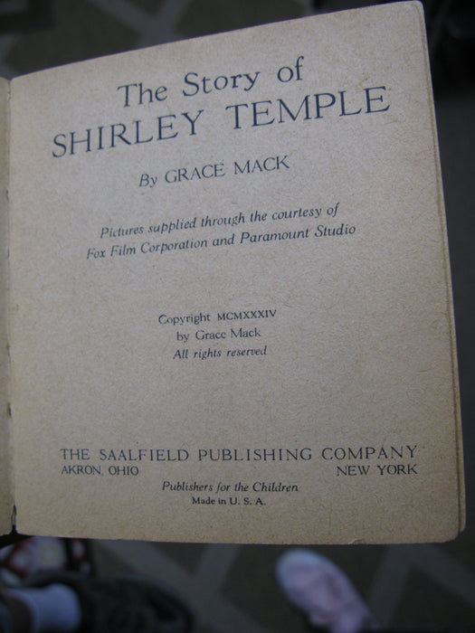 The Story of Shirley Temple by Grace Mack