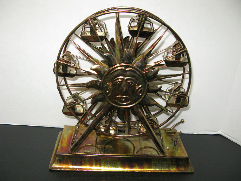 Vintage Copper Ferris Wheel