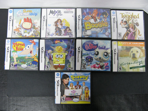 49 Lot of Nintendo DS Games
