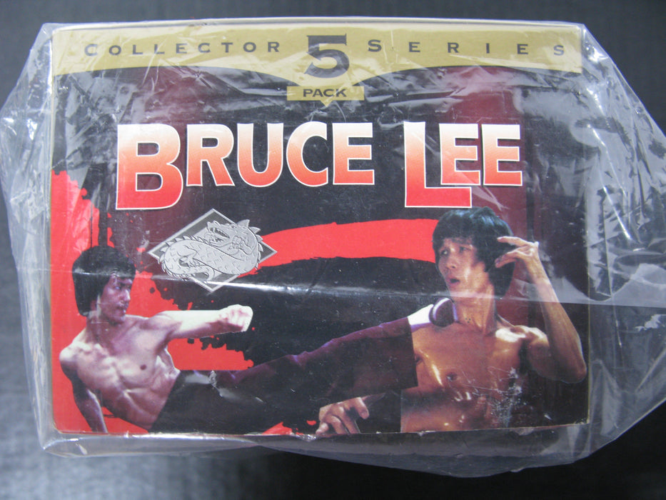 Bruce Lee Collector Series 5 Pack VHS
