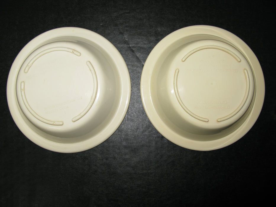 "2 Bowls 1995 Kellogg Company ""The Best to You Each Morning"""