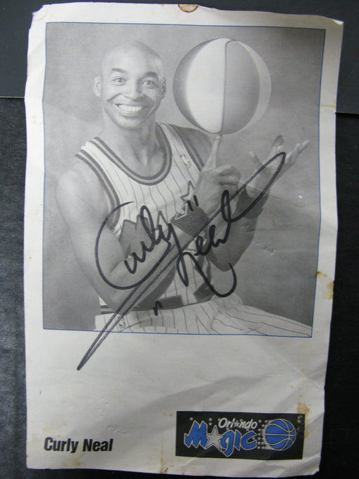 Curly Neal Autograph