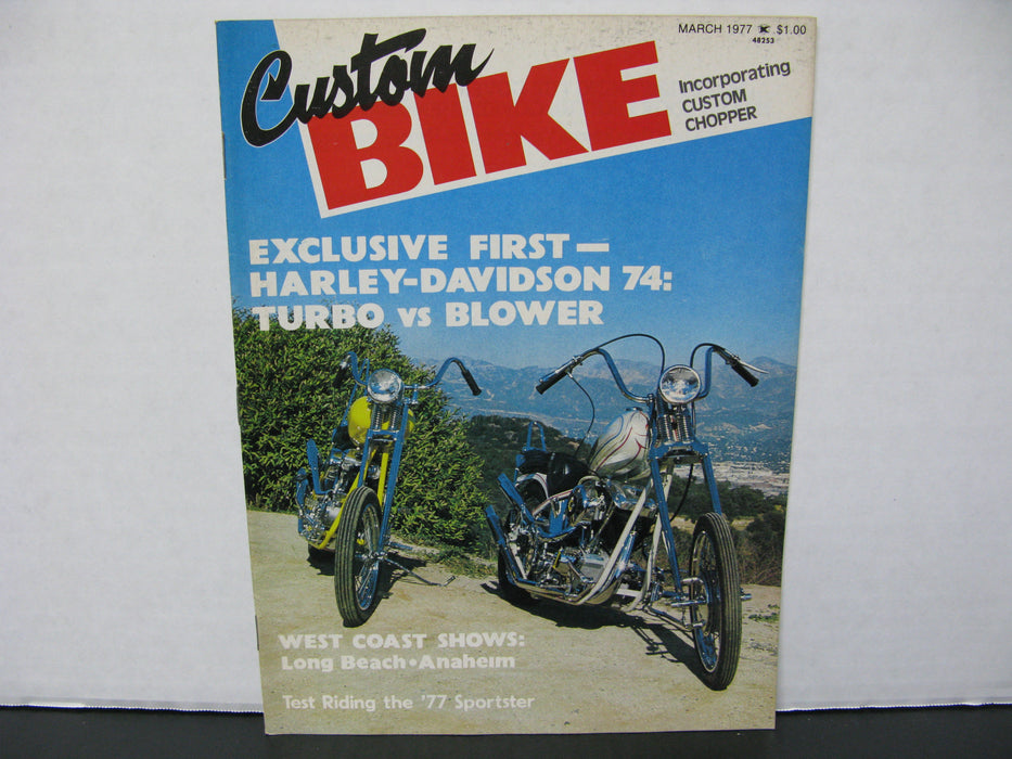 26 SuperCycle, Custom Bike, and other Motorcycle Magazines