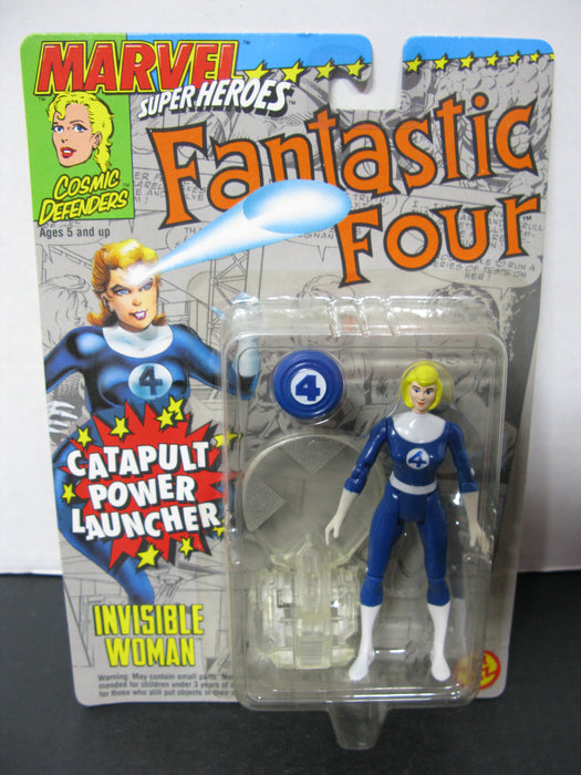 Fantastic Four Invisible Woman Catapult Launcher