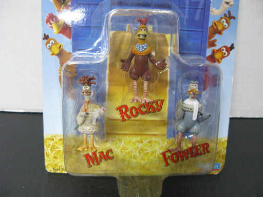 Chicken Run - Mac, Rocky And Fowler 3 Piece Set