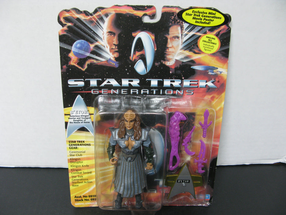 1994 Star Trek Generations B'Etor Action Figure