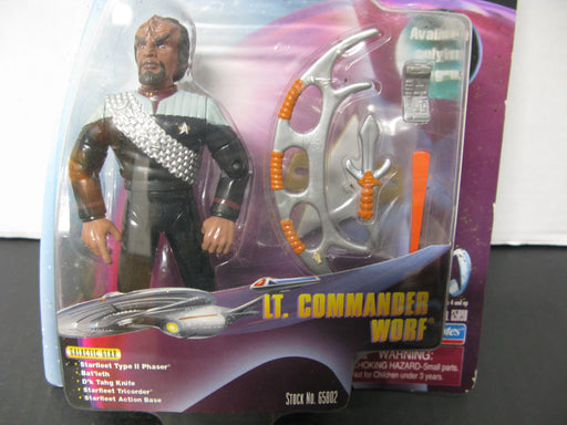 Star Trek LT. Commander Worf Figure