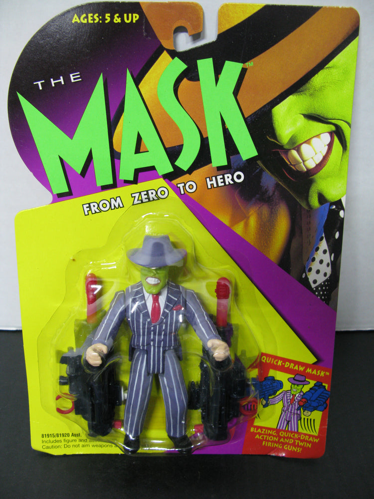 4 The Mask Figures From Zero to Hero