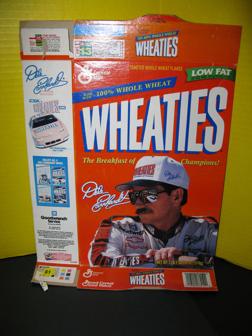 Flat Wheaties Box Dale Earnhardt