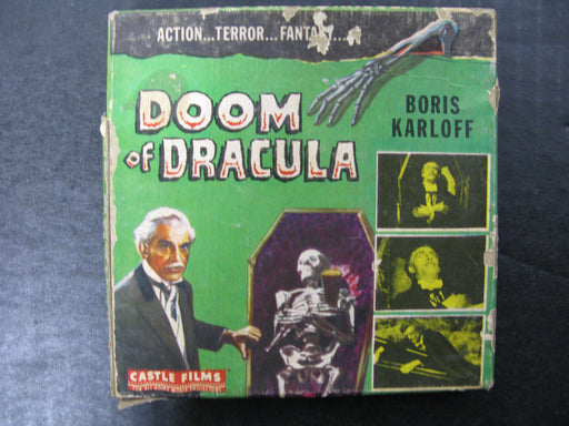 Doom of Dracula Boris Karloff Castle Films