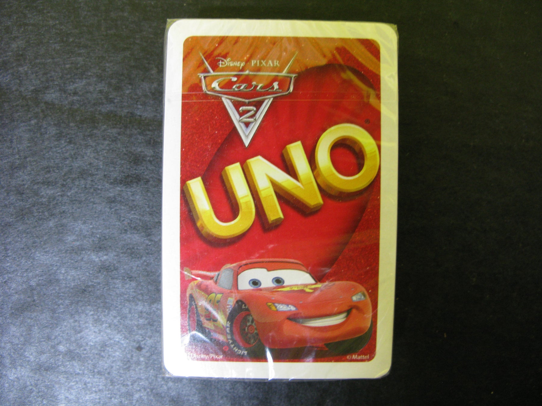 Disney Pixar Cars 2 Uno Cards