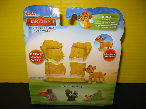 The Lion Guard Kion's Toppling Rock Wall