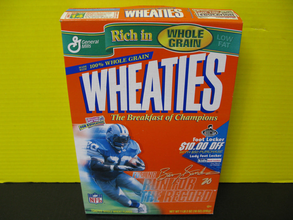 Wheaties Fueling the Run for the Record