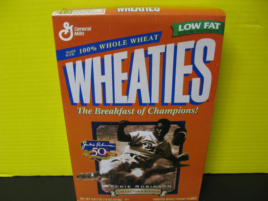 Wheaties the Breakfast of Champions Jackie Robinson Cereal