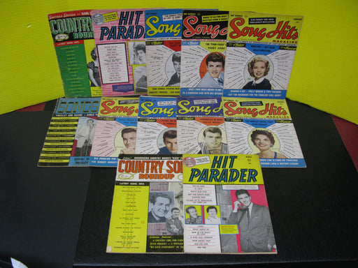 12 Song Magazines